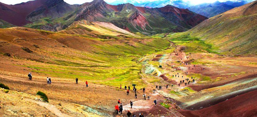 tour a la montaña de 7 colores